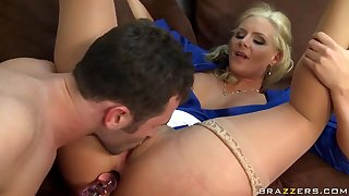 Horny student James Deen drills her slutty teacher Phoenix Marie