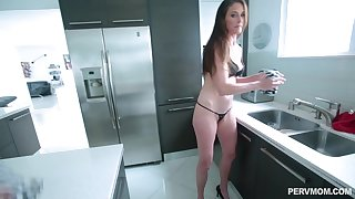 After dick licking Sofie Marie sits on the top of a boyfriend's hard shoal