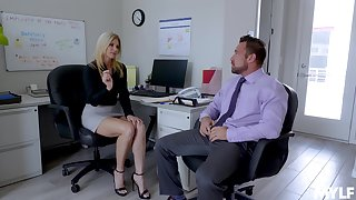 Off colour India Summer enjoys sex with will not hear of colleague in will not hear of office