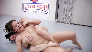 Victoria Voxxx vs Brandi Mae more hot lesbian sex exercise