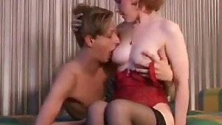 Hot Cougar Russian Home Sexual Resuscitate Her Young Lover